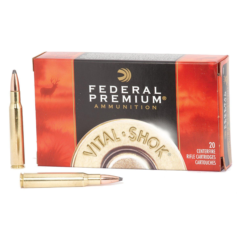 Federal Premium® Sierra® GameKing®  30-06 Springfield 165-Grain Rifle  Ammunition