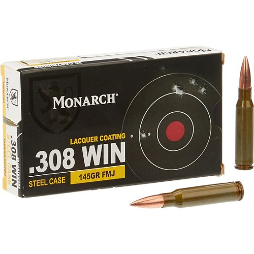Monarch® FMJ .308 Winchester 150-Grain Rifle Ammunition