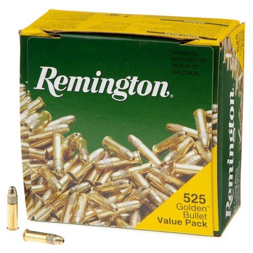 Remington Golden Bullet HP .22 LR 36-Grain Rimfire Rifle Ammunition
