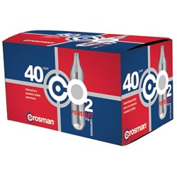 Copperhead Powerlet 12-Gram CO₂ Cartridges 40-Pack