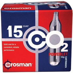 Copperhead Powerlet 12-Gram CO₂ Cartridges 15-Pack