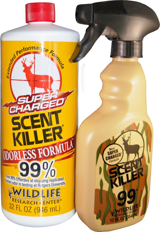 Wildlife Research Center® Super Charged® Scent Killer® 32 fl. oz. Scent Eliminator Combo