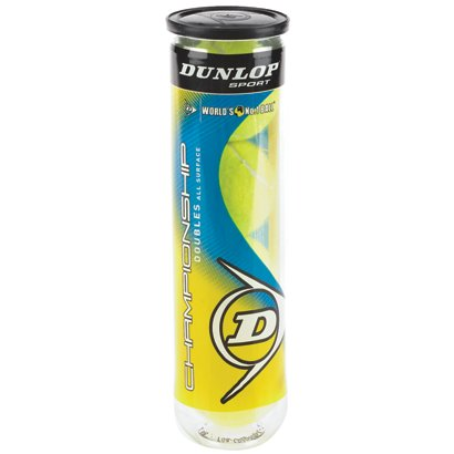 Dunlop Championship All Court Tennis Balls 4 Ball Can Academy