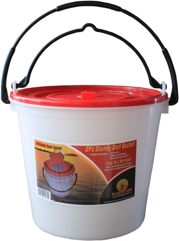 Challenge Plastic Products 10 qt. Bait Bucket