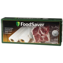 "GameSaver® 11"" x 16' Vacuum Packaging Bag Rolls 2-Pack"