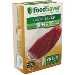 GameSaver® 1 qt. Precut Vacuum Packaging Bags 44-Pack