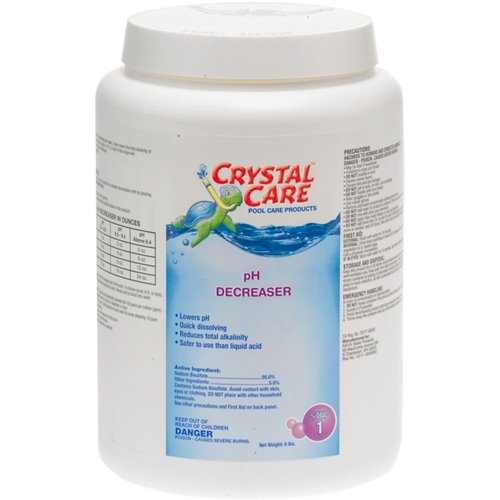 Crystal Care 6 lb. pH Decreaser