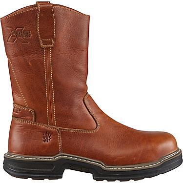 66679da20e4 Wolverine Men's Raider MultiShox Contour Welt EH Steel Toe Wellington Work  Boots