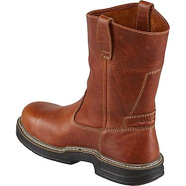 a0eb2a68006 Wolverine Men's Raider MultiShox Contour Welt EH Steel Toe Wellington Work  Boots
