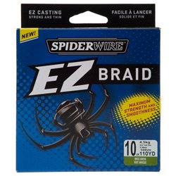 Spiderwire EZ Braid 110 yards Braided Fishing Line