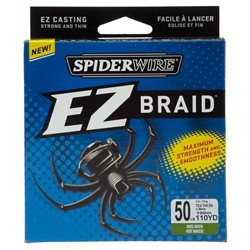 Spiderwire EZ BRAID 110-Yard Fishing Line
