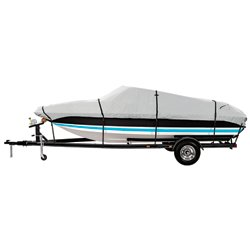 Marine Raider Platinum Series Model B Boat Cover For 14' - 16' V-Hull, Tri-Hull Runabouts And Alumin