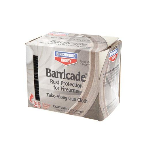Birchwood Casey® Barricade® Take-Along Gun Cloths 25-Pack