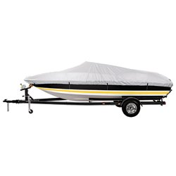 Marine Raider Silver Series Model E Boat Cover For 20' - 22' V-Hull Runabouts And V-Hull Pro-Style B