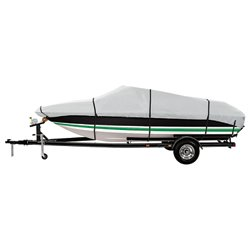 Marine Raider Gold Series Model E Boat Cover For 20' - 22' V-Hull Runabouts And V-Hull Pro-Style Bas