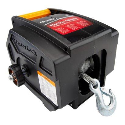 master lock portable 12v electric winch academy
