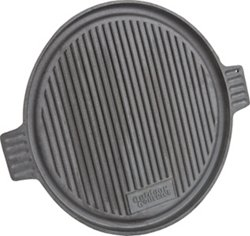 Outdoor Gourmet 14 in Preseasoned Round Griddle