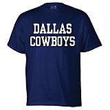Men s Dallas Cowboys Fan Gear Coaches Short Sleeve T-shirt 7f581df66e3