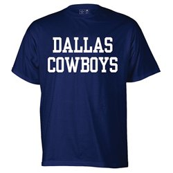 Men's Dallas Cowboys Fan Gear Coaches Short Sleeve T-shirt