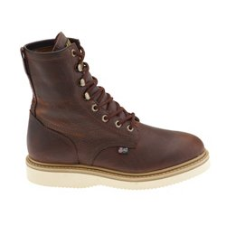 Justin Axe Tan Wedge Boots