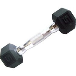 5 lb. Coated Hex Dumbbell
