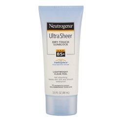 Neutrogena 3 oz. Ultra Sheer Dry-Touch SPF 85+ Sunblock