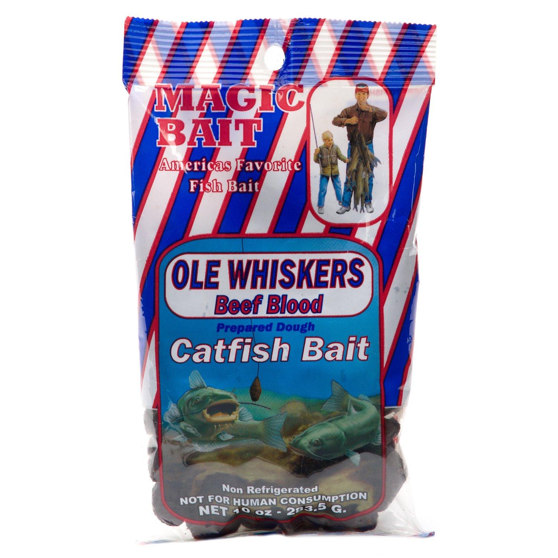 Magic Bait Ole Whiskers 10 oz. Beef Blood Catfish Bait