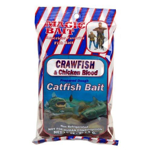 Magic Bait 10 oz. Crawfish and Chicken Blood Catfish Bait