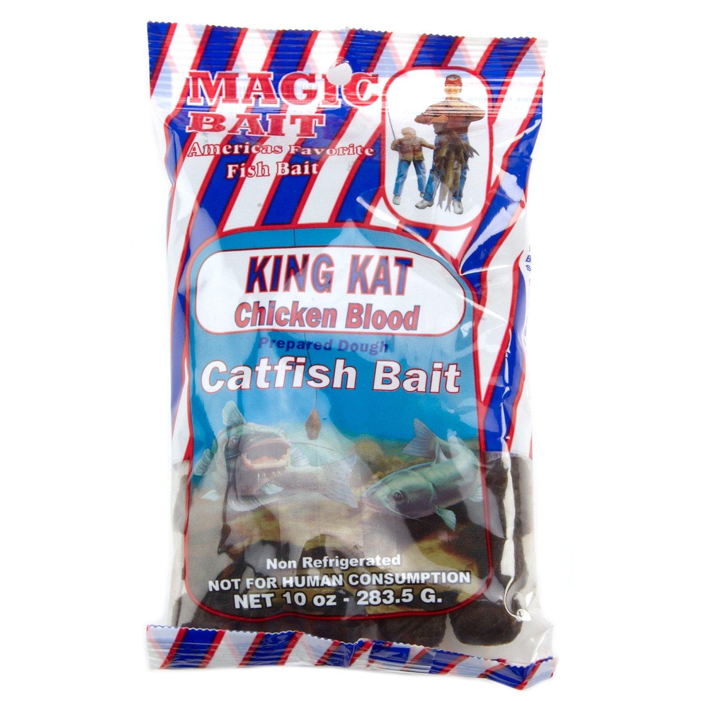 Magic Bait King Kat Chicken Blood Catfish Bait