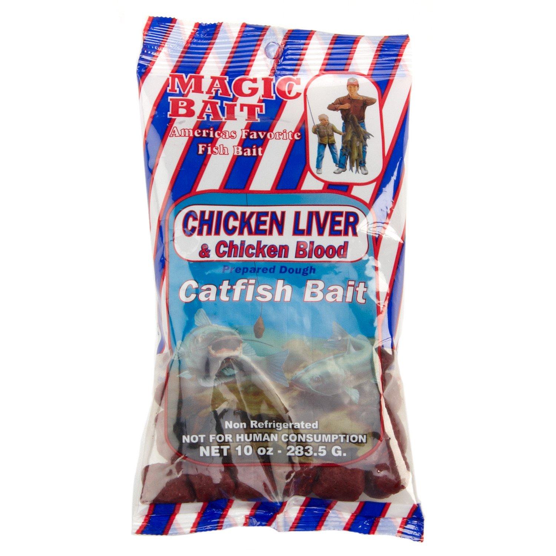 Magic Bait Chicken Liver and Chicken Blood Catfish Bait
