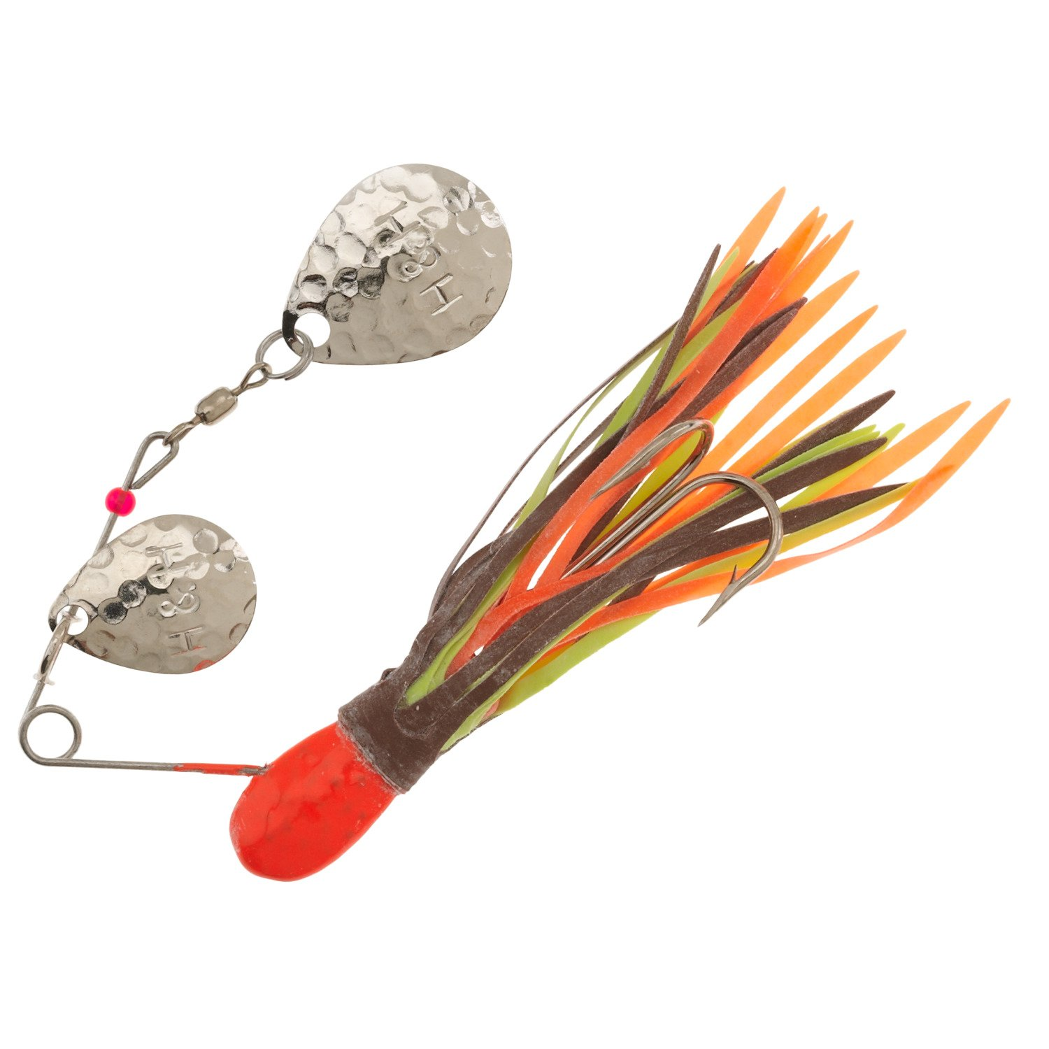 Display product reviews for H&H Lure 3/8 oz Double Colorado Blade Spinnerbait
