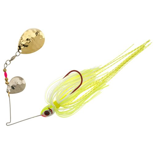 BOOYAH Tux & Tails 3/8 oz Double-Colorado Blade Spinnerbait