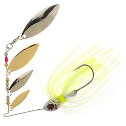 Super Shad 3/8 oz Multi Willow Blade Spinnerbait