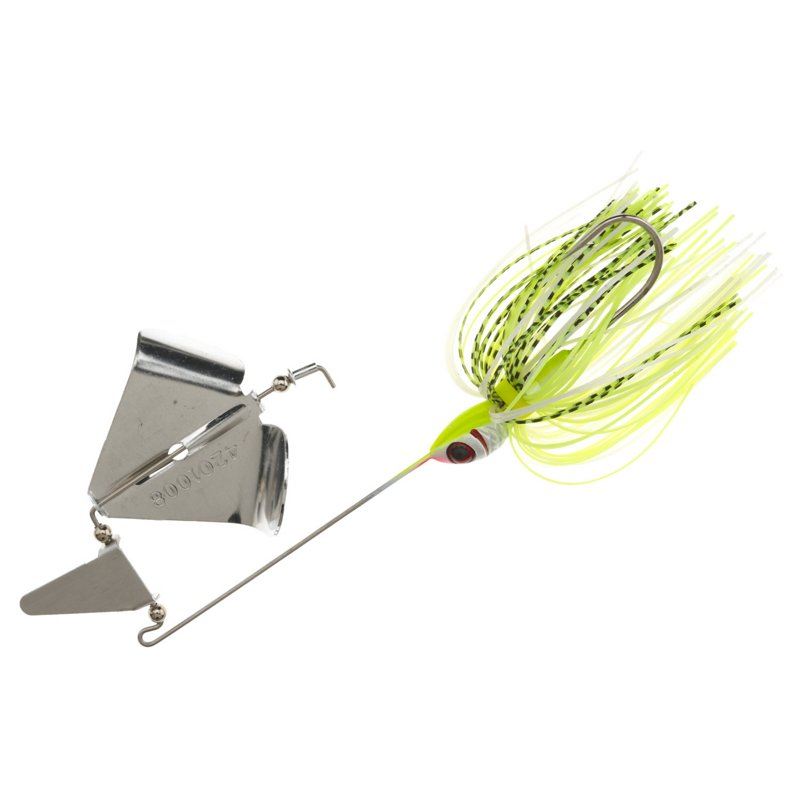 BOOYAH Buzz 3/8 oz Clacker Buzzbait Chartreuse – Fresh Water Wire Baits at Academy Sports