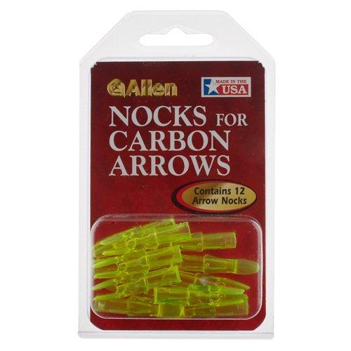 Allen Company Carbon Arrow Nocks 12-Pack