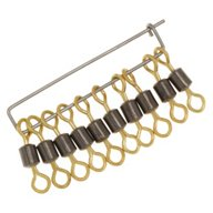 P-Line Dura-Max High-Speed Rolling Treble Swivels 10-Pack
