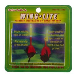 Carlson Tackle Wing It Wing Lite Mini Light Sticks 2-Pack