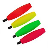 "Comal Tackle 2.5"" Peg Floats 4-Pack"