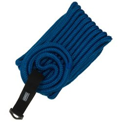 Marine Raider 1/2 in x 25 ft Blue Double-Braided Dock Line