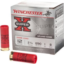 Super-X Lead Shot Game Load 12 Gauge Shotshells