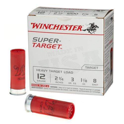 Winchester Target Load 12 Gauge 8 Shotshells 250 Round Case