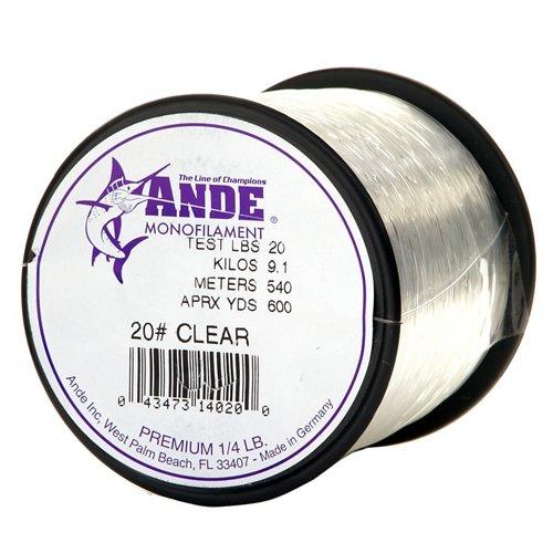 ANDE® Premium 20 lb. - 600 yards Monofilament Fishing Line