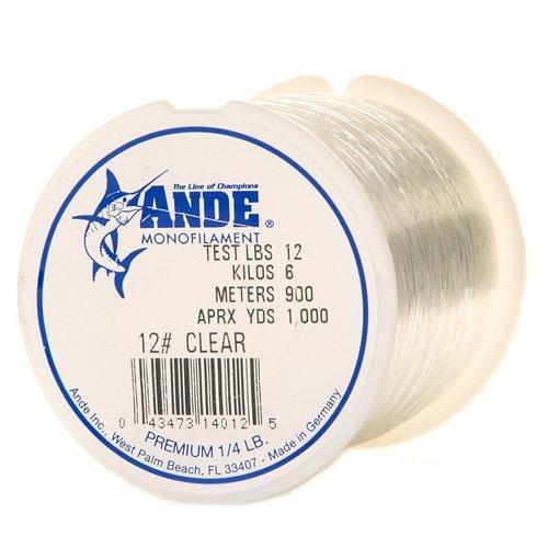 ANDE® Premium 12 lb. - 1,000 yards Monofilament Fishing Line