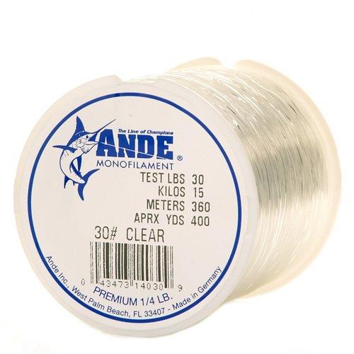 ANDE® Premium 30 lb. - 400 yards Monofilament Fishing Line