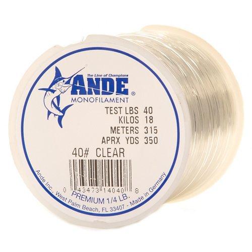 ANDE® Premium 40 lb. - 350 yards Monofilament Fishing Line