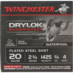 Super-X Waterfowl Load 20 Gauge Shotshells