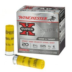 Winchester Xpert Steel Upland Game and Target Load 20 Gauge Shotshells