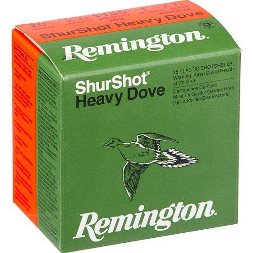 Remington ShurShot Heavy Dove 20 Gauge 7.5   Shotshells