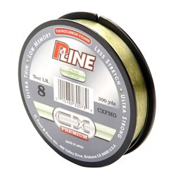 P-Line® CX Premium 8 lb. - 300 yards Fluorocarbon Fishing Line