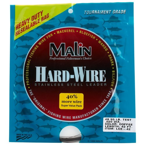 Malin 42 ft Stainless-Steel Hard Wire